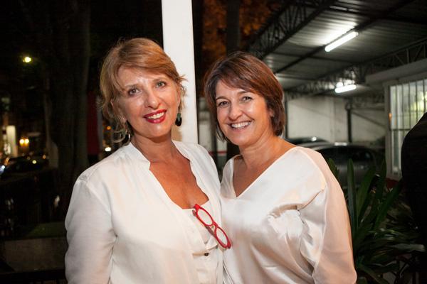 Eniza Bolonha e Xênia Mozzaquatro da Alcaçuz